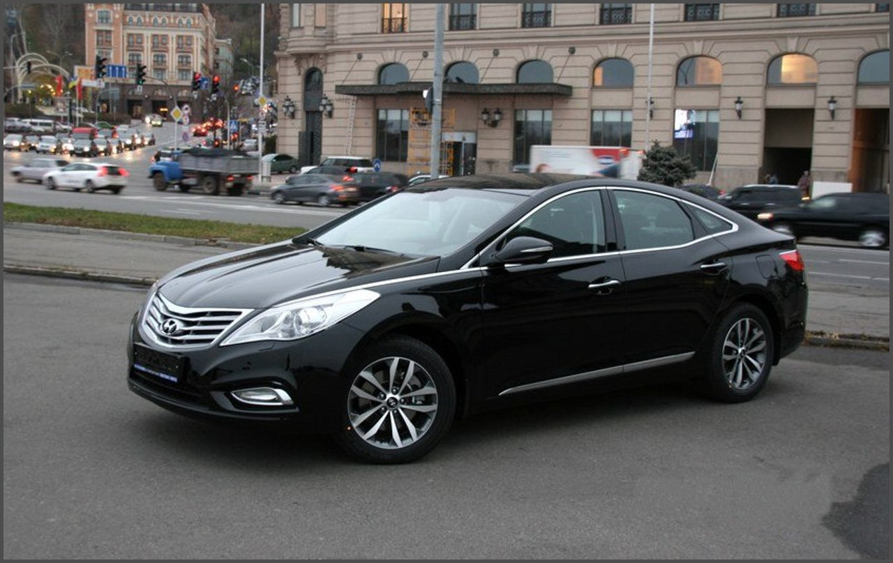Hyundai Grandeur 2013 Review Amazing Pictures And Images Look At The Car