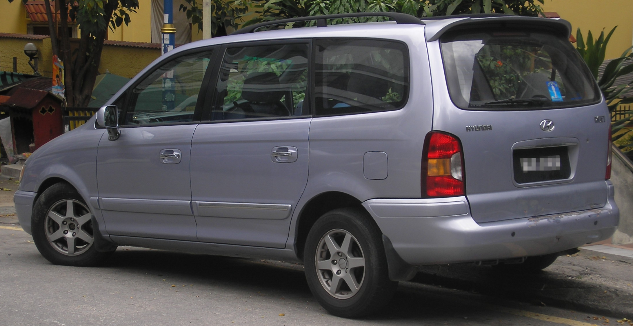 Hyundai Trajet 2002 Review Amazing Pictures And Images