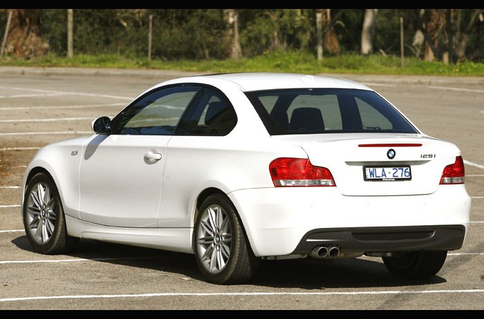2012 bmw 125i coupe specs
