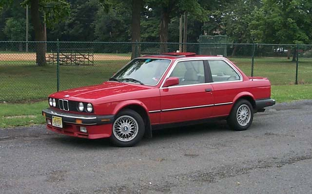 BMW 3-series 1987 photo - 8