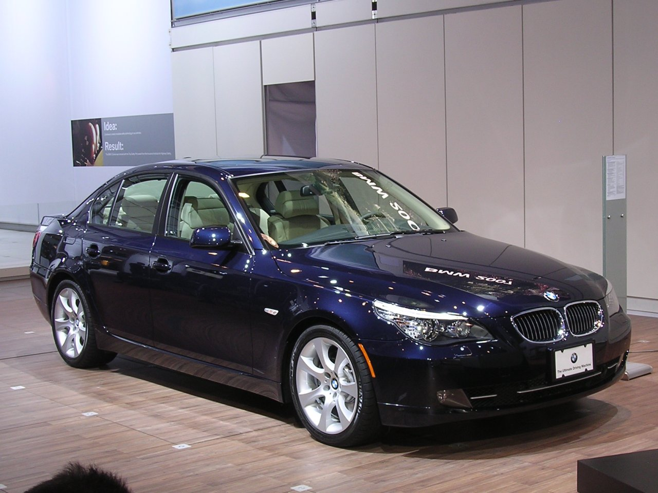 BMW 525Xi 2008 Review Amazing Pictures and Images  Look at the car