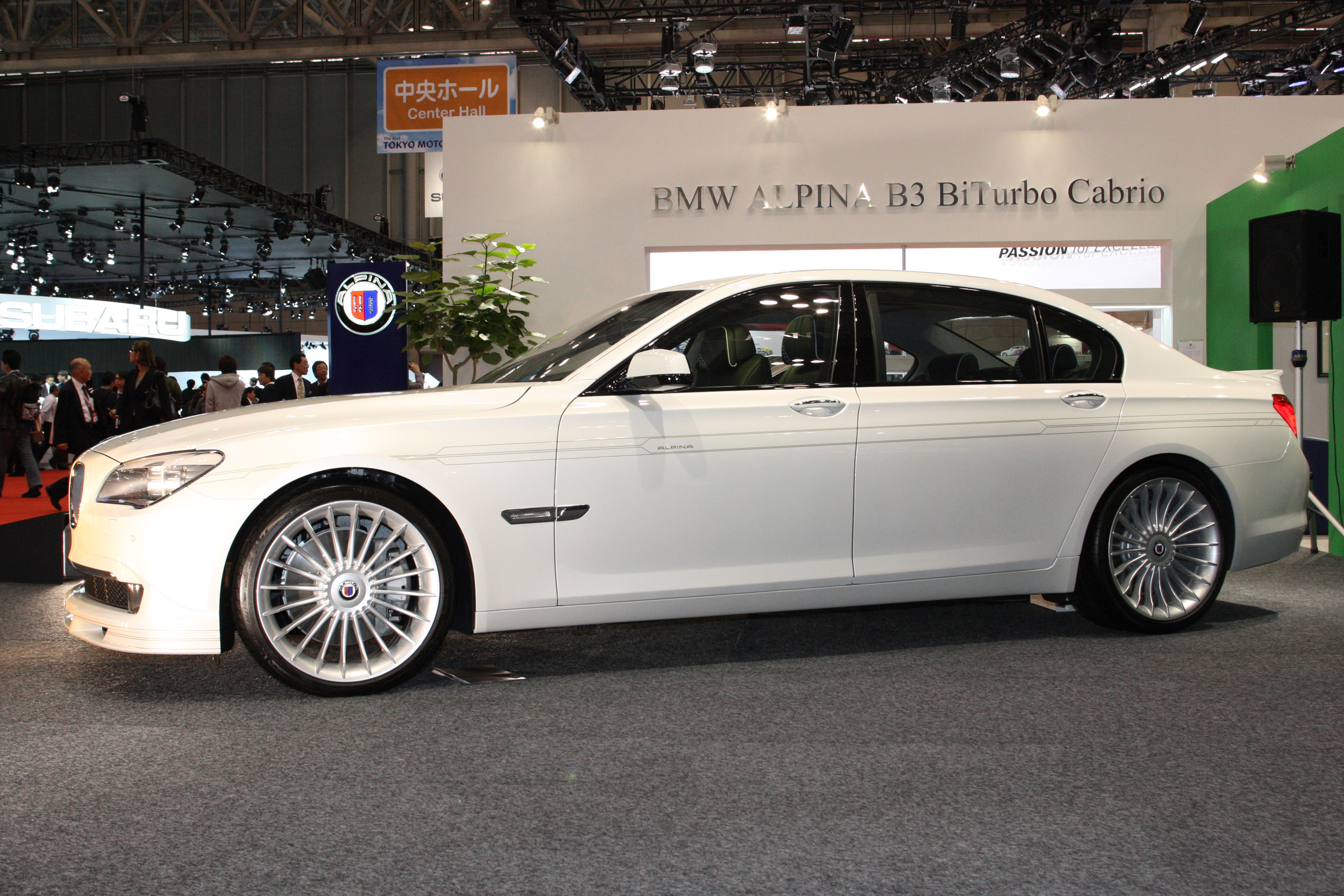 BMW b7 Alpina 2012 photo - 3
