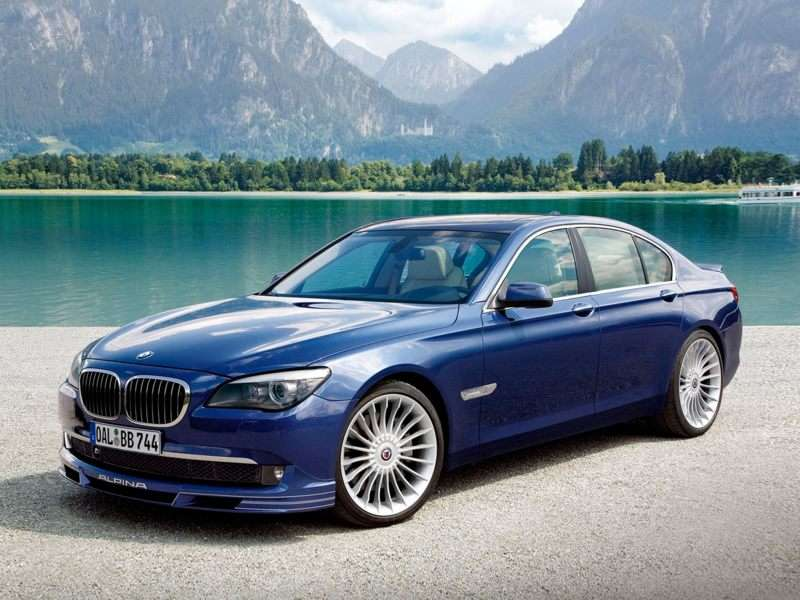 BMW b7 Alpina 2012 photo - 8