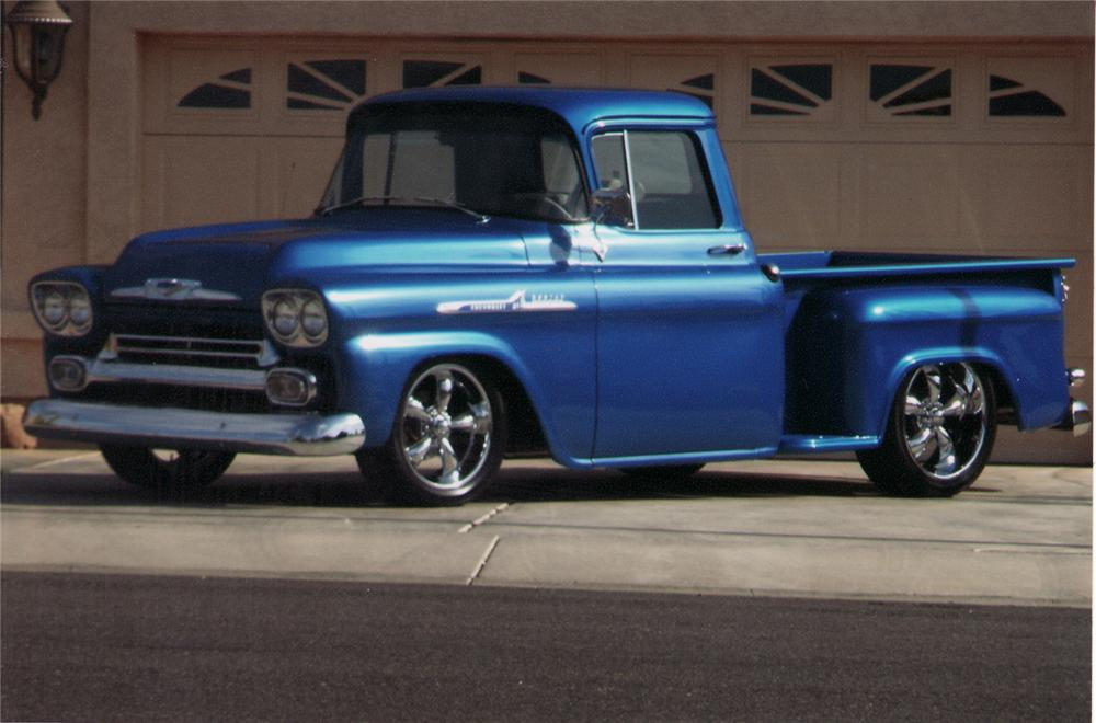 Chevrolet Apache 1958 photo - 1