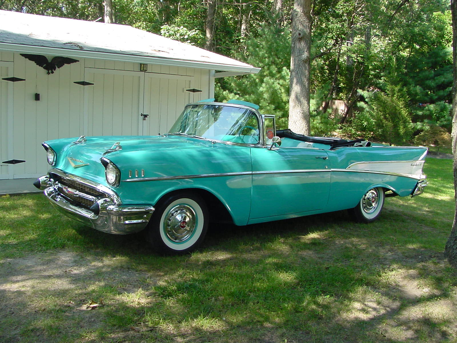 Chevrolet Bel air 1957 photo - 3