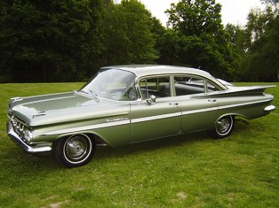 Chevrolet Bel air 1959 photo - 3
