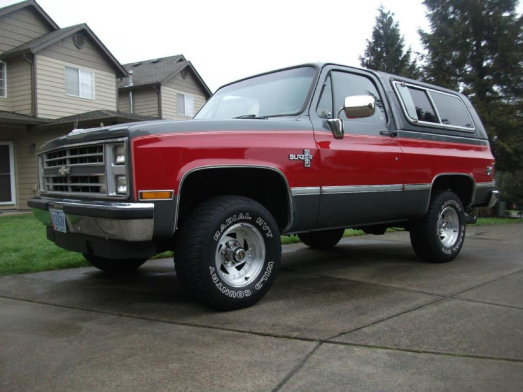 Chevrolet Blazer 1987 photo - 2