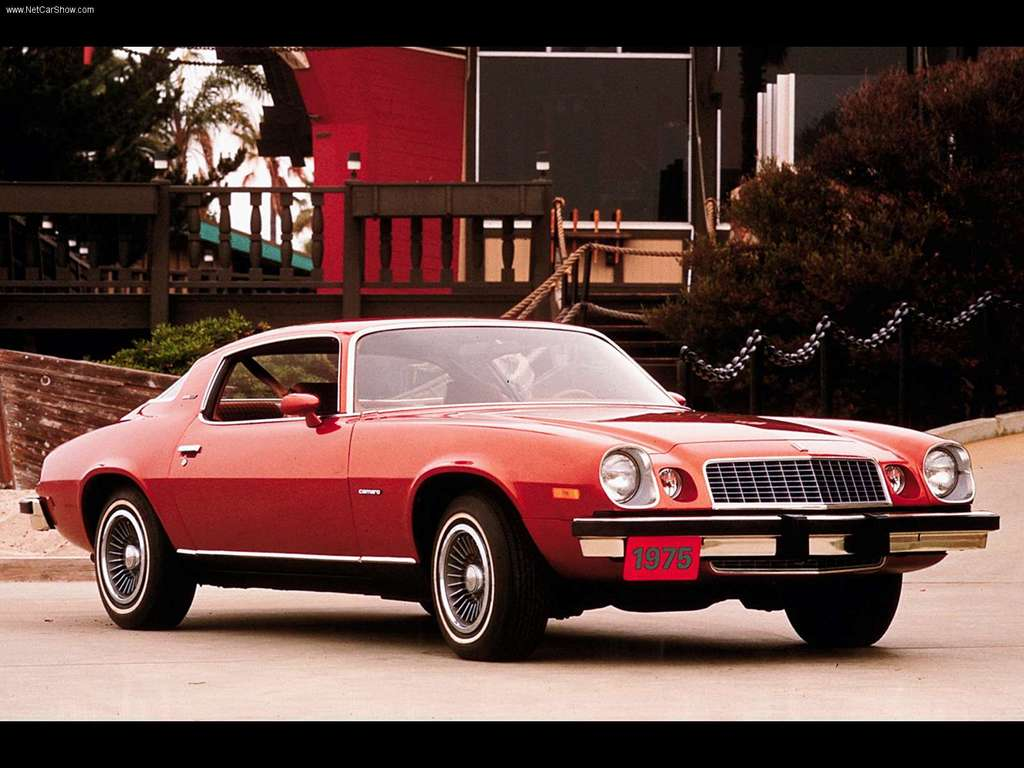 Chevrolet camaro 1975 photo - 3