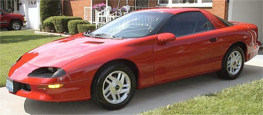 Chevrolet camaro 1995 photo - 2