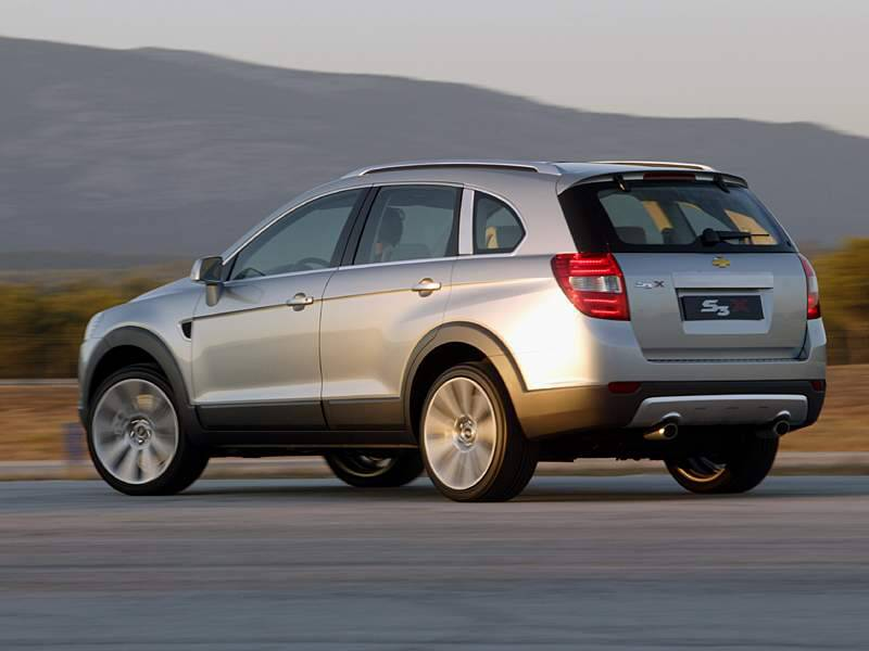 Chevrolet Captiva 2008 photo - 1