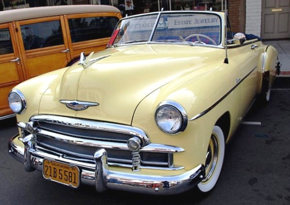 Chevrolet convertible 1950 photo - 5