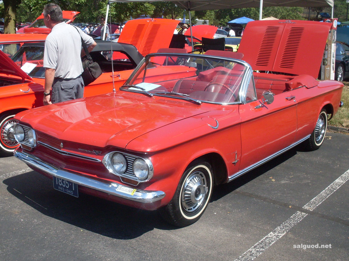 Chevrolet corvair 1963 photo - 3