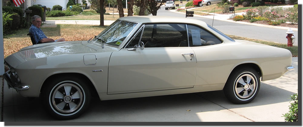 Chevrolet corvair 1966 photo - 6