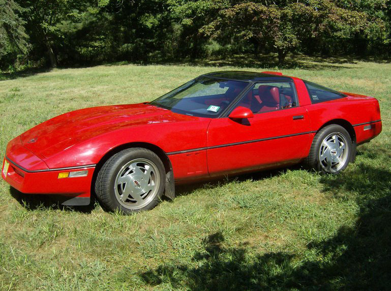 Chevrolet corvette 1989 photo - 1