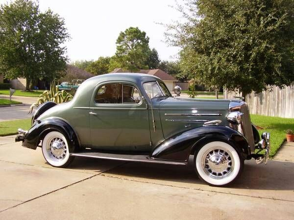 Chevrolet coupe 1936 photo - 1