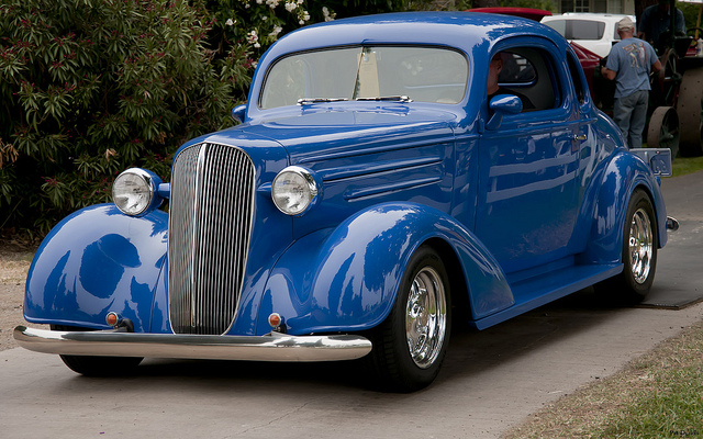 Chevrolet coupe 1936 photo - 5