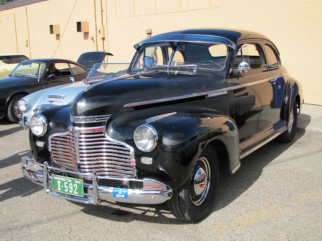 Chevrolet coupe 1941 photo - 3