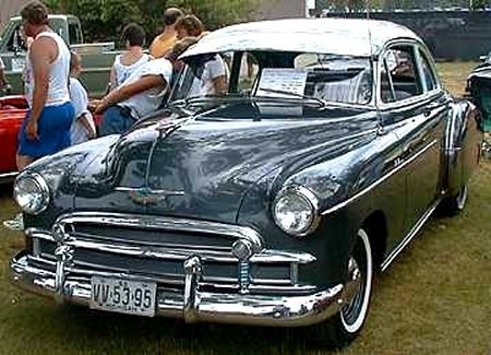 Chevrolet Coupe 1950 photo - 6