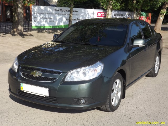 Chevrolet epica 2008 photo - 4