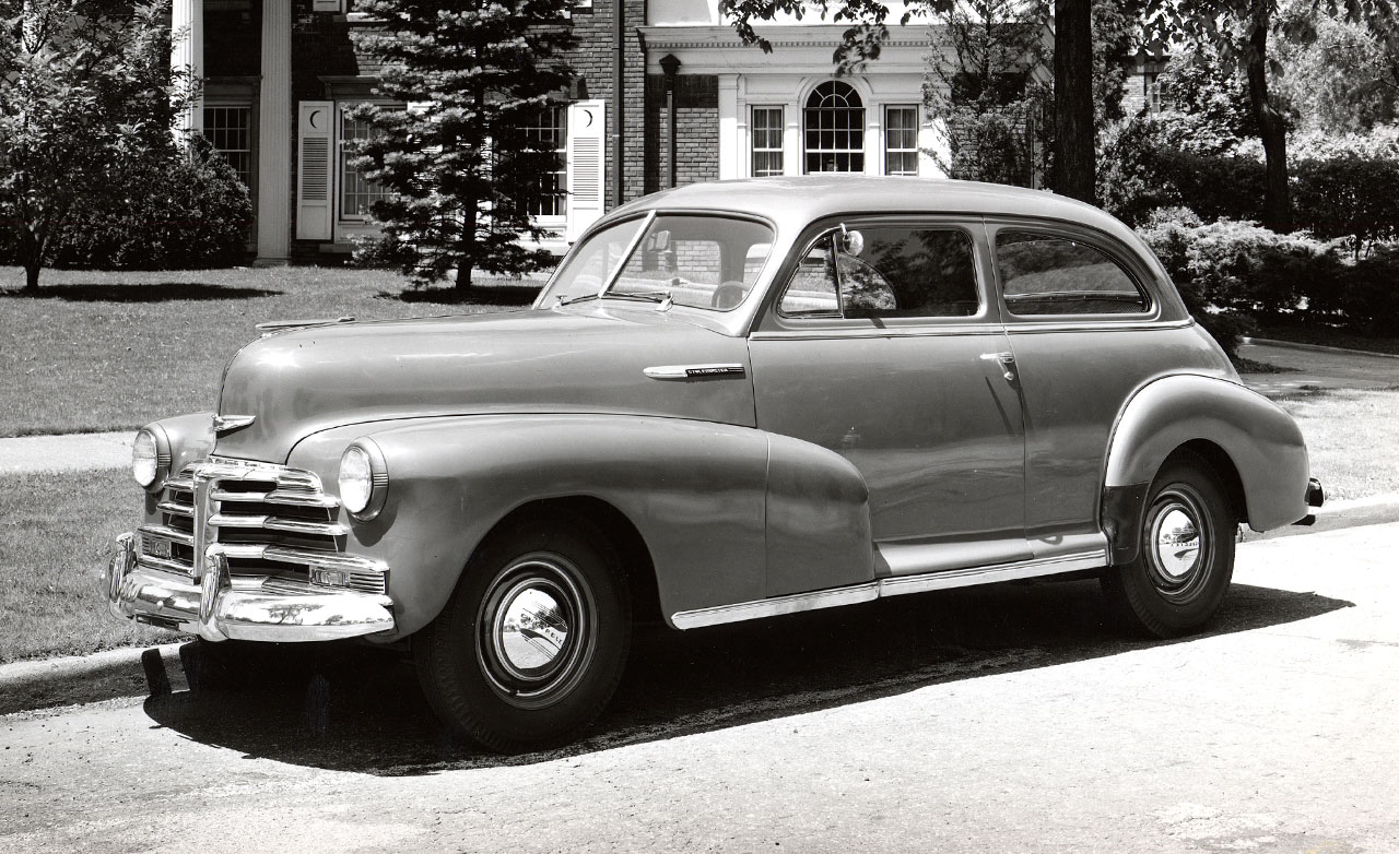 Chevrolet fleetline 1946 photo - 3