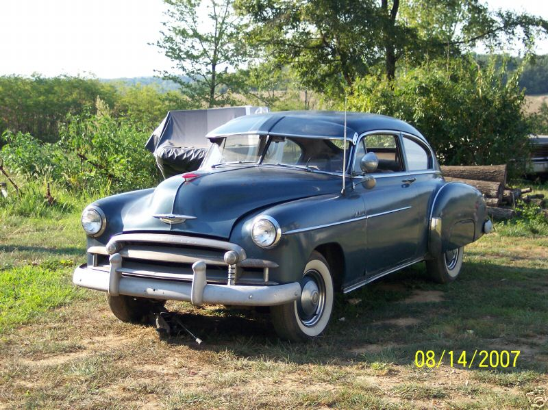 Chevrolet fleetline 1950 photo - 2
