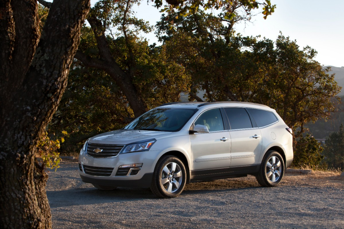 Chevrolet minivan 2014 photo - 3
