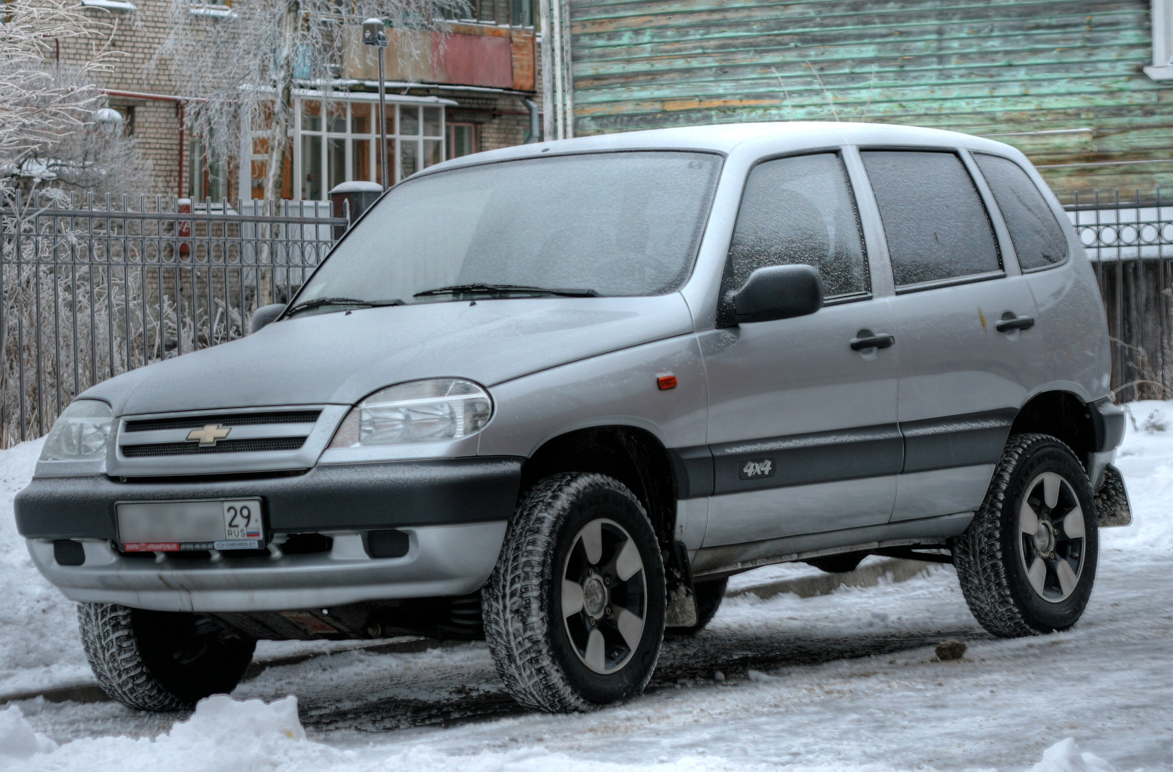 Chevrolet niva 2005 photo - 3