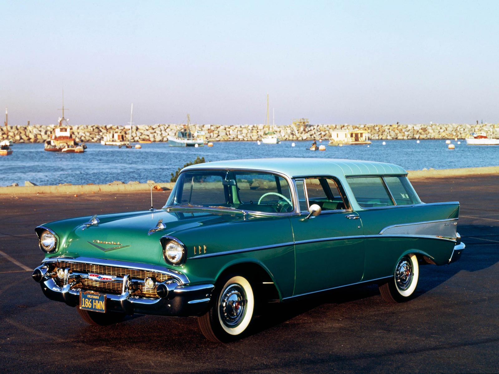 Chevrolet nomad 1955 photo - 2