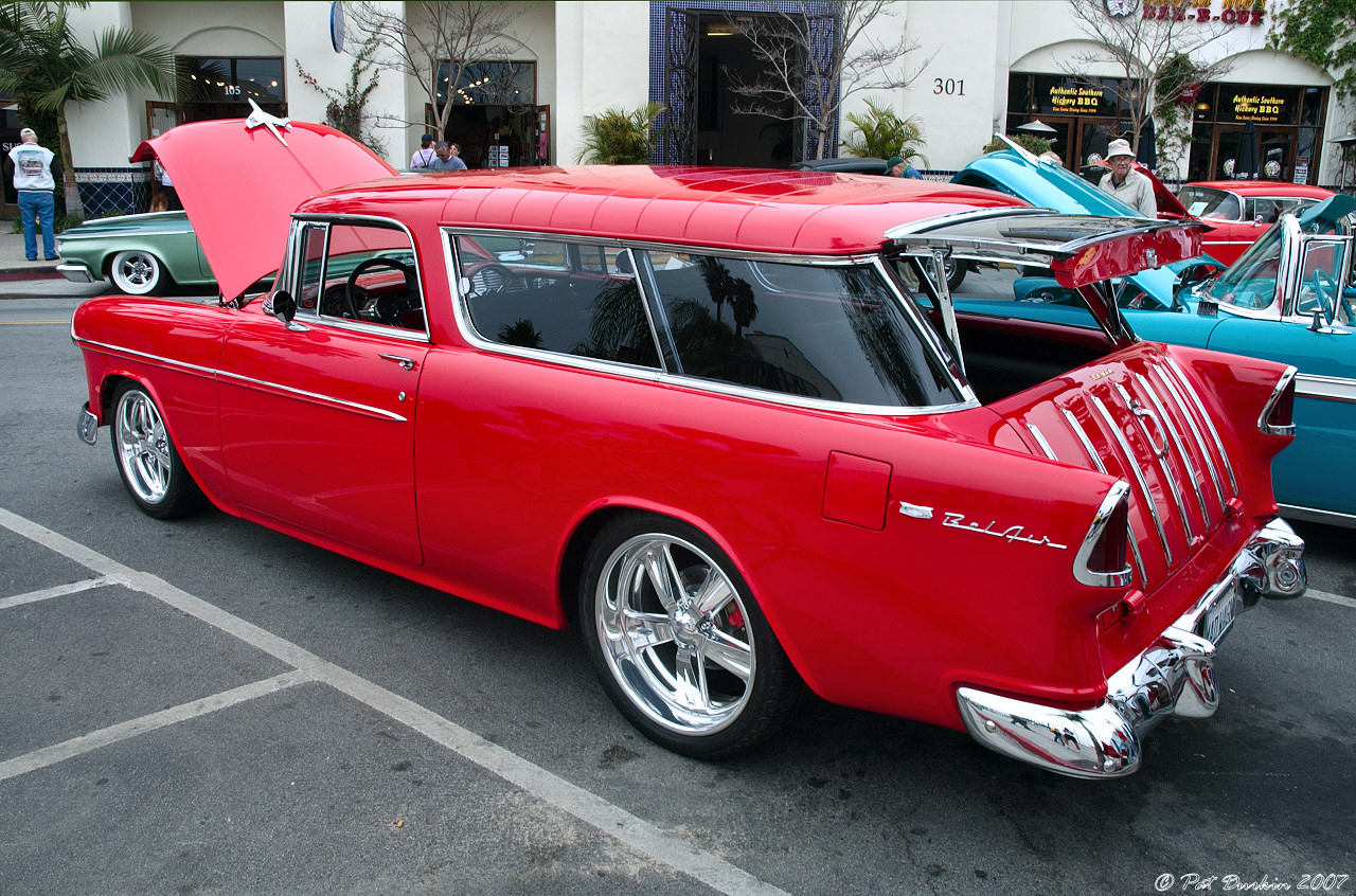 Chevrolet nomad 1955 photo - 3
