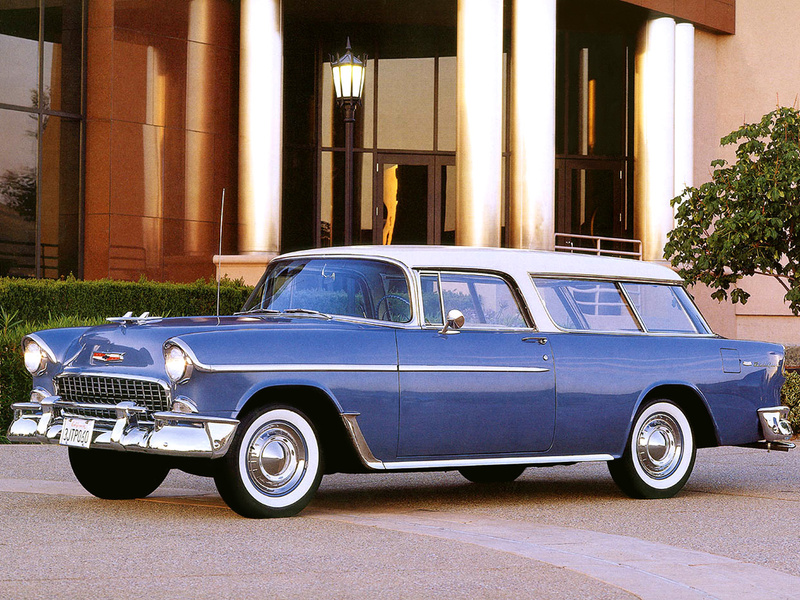Chevrolet nomad 1955 photo - 4