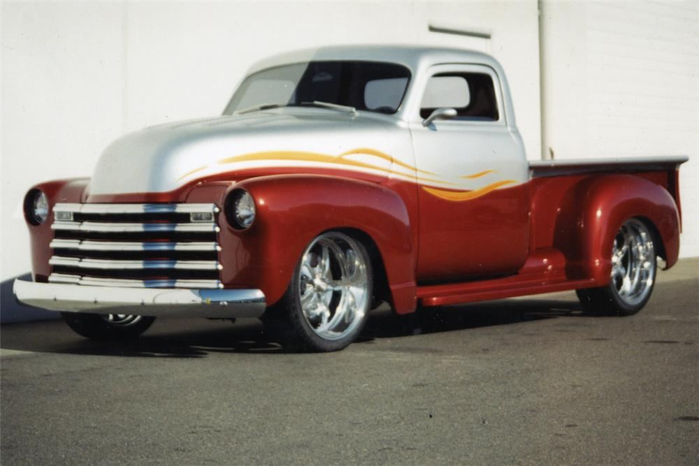 Chevrolet pickup 1953 photo - 4
