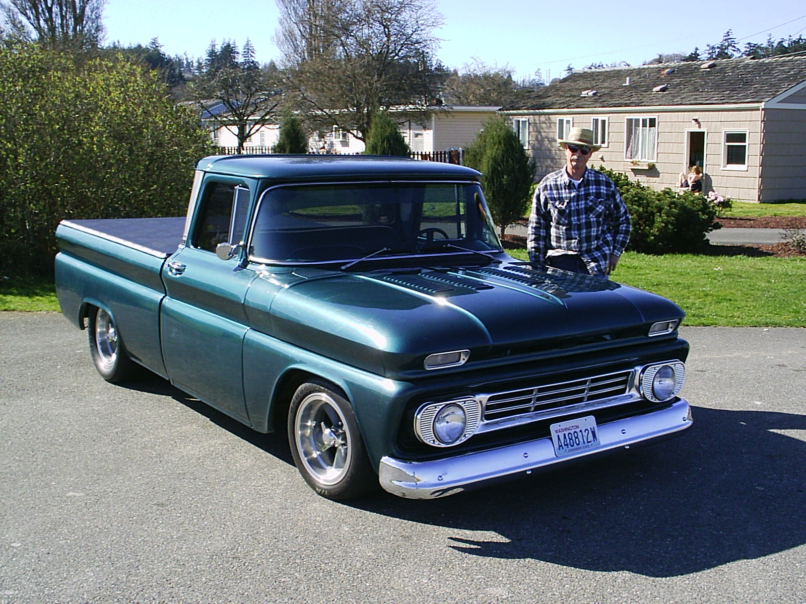 Chevrolet pickup 1963 photo - 4