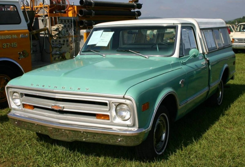 Chevrolet pickup 1968 photo - 2