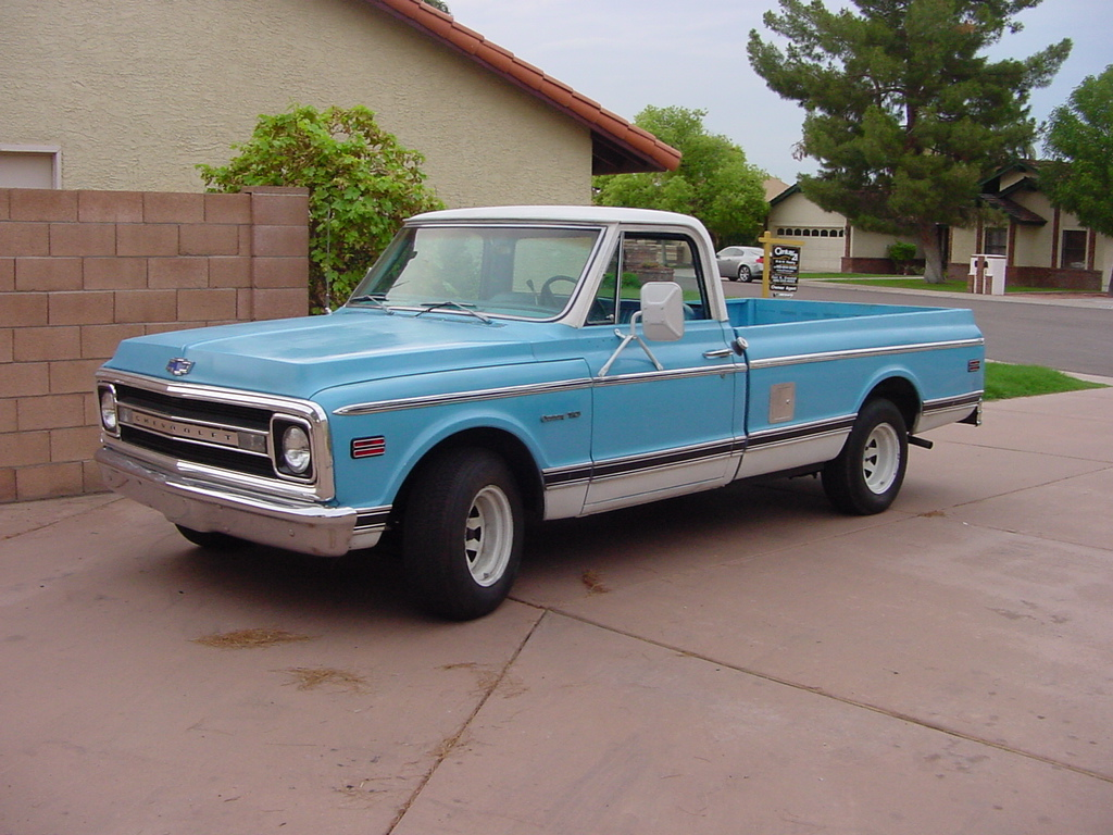 Chevrolet pickup 1969 photo - 3