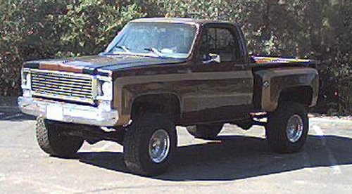 Chevrolet pickup 1978 photo - 1