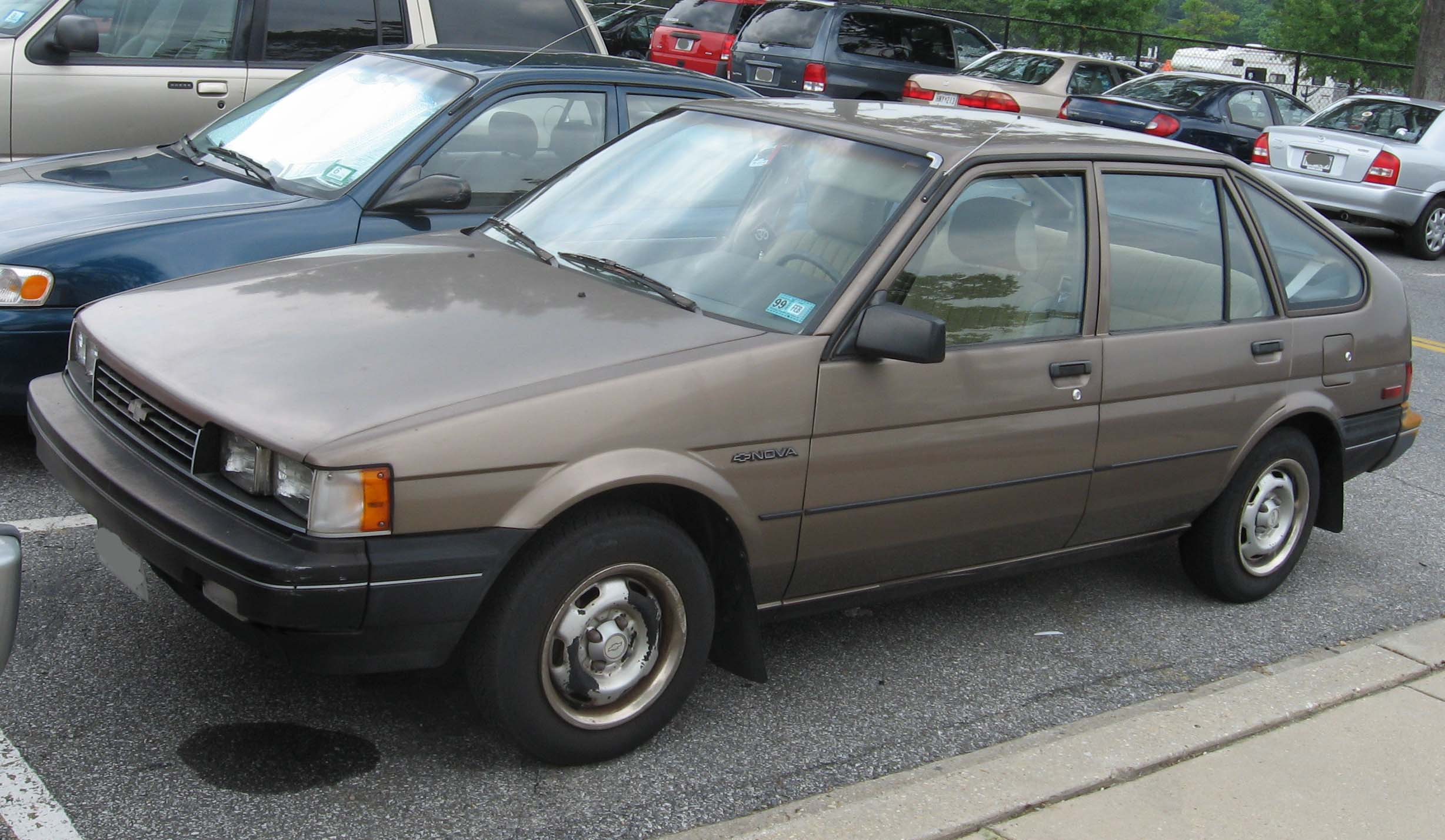 Chevrolet spectrum 1986 photo - 2
