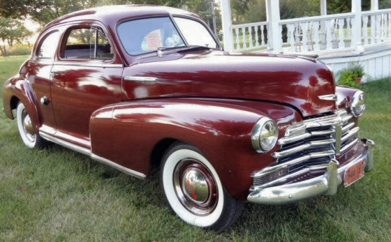 Chevrolet stylemaster 1948 photo - 2