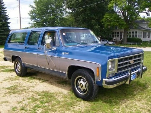 Chevrolet Suburban 1979 Review Amazing Pictures And