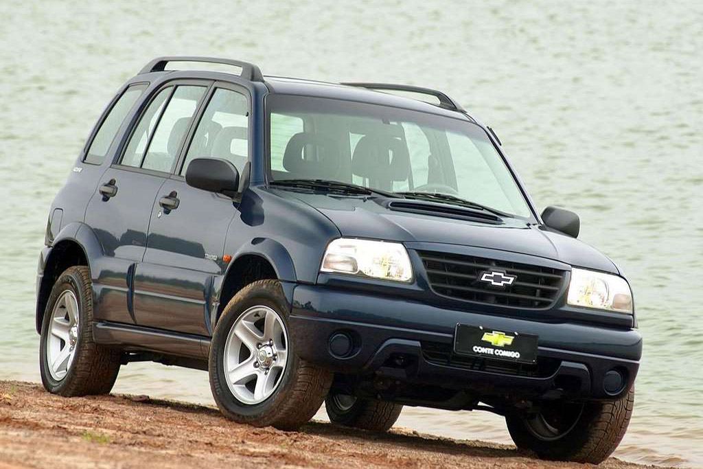 Chevrolet Tracker 2002 photo - 3