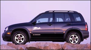 Chevrolet tracker 2003 photo - 3