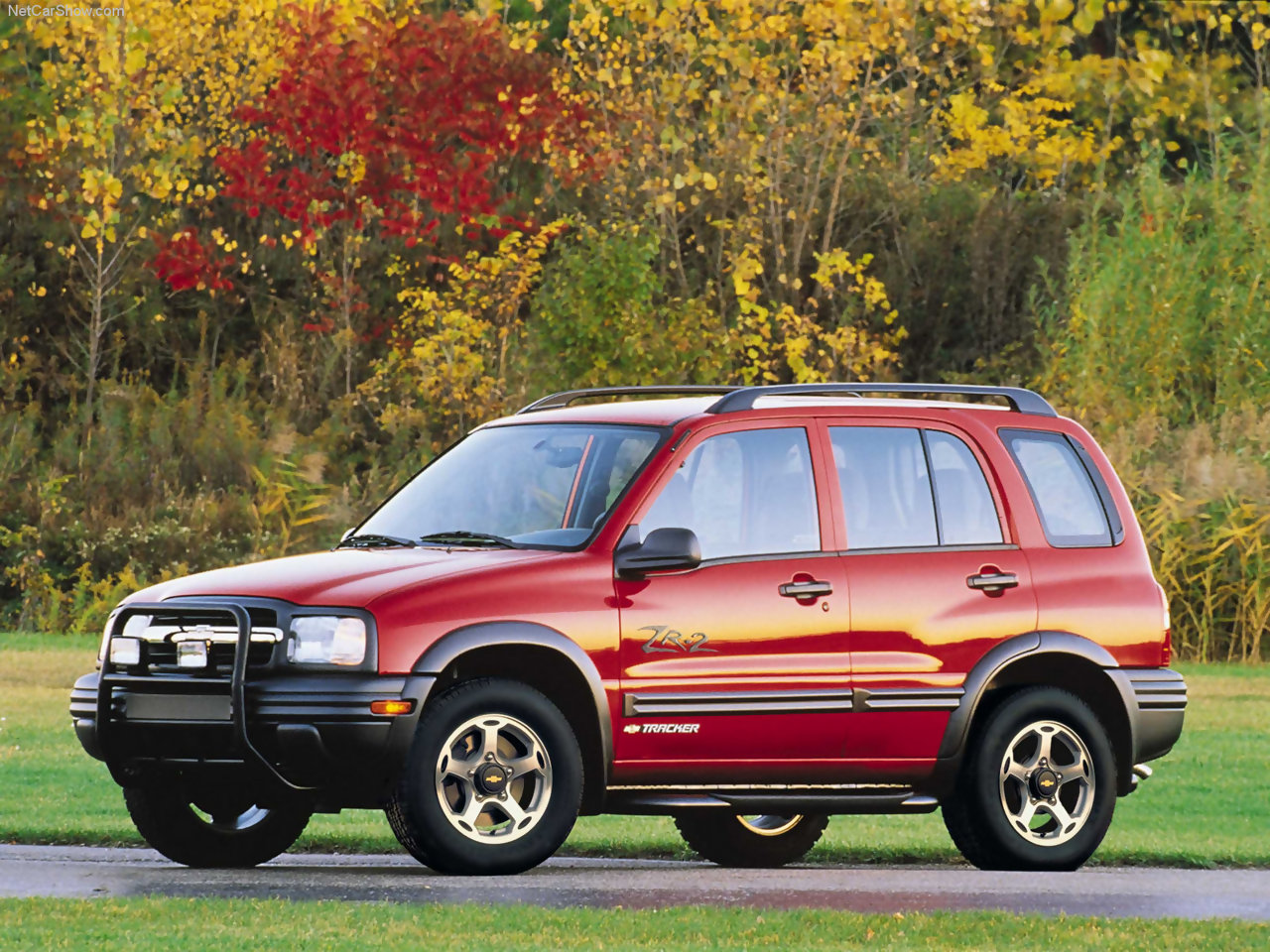 Chevrolet tracker 2003 photo - 5
