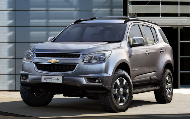 Chevrolet trailblazer 2012 photo - 3