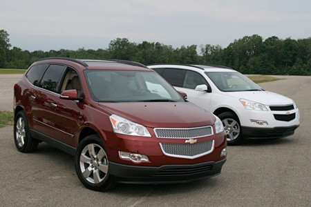 Chevrolet traverse 2008 photo - 3