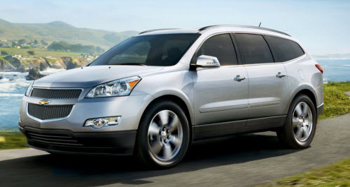 Chevrolet traverse 2011 photo - 6