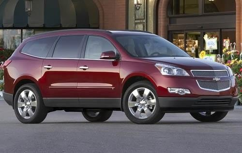 Chevrolet traverse 2012 photo - 2