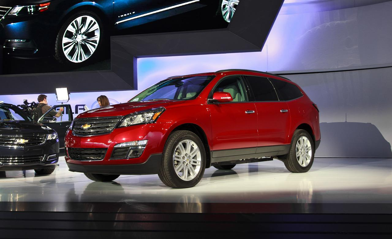 Chevrolet traverse 2013 photo - 3