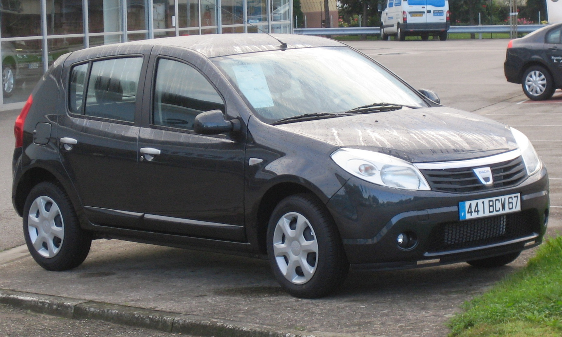 dacia sandero 2008 review amazing pictures and images look at the car. Black Bedroom Furniture Sets. Home Design Ideas