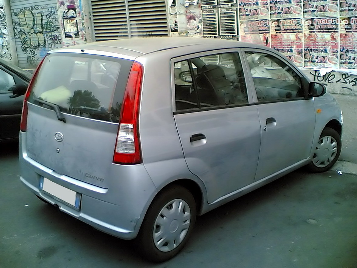 Daihatsu Cuore 2003: Review, Amazing Pictures and Images   Look at