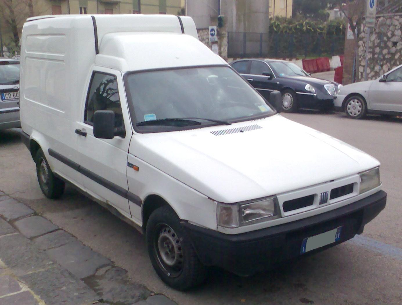 Fiat Fiorino 1993 photo - 1
