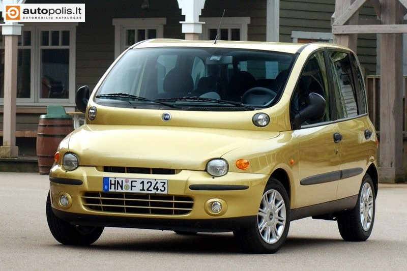 Fiat Multipla 1999 photo - 1
